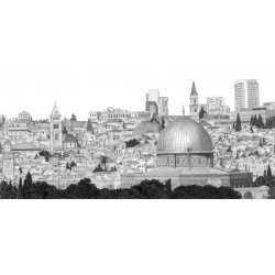 Panoramic View of Jerusalem