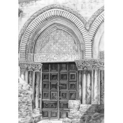 Door of the Holy Sepulchre...