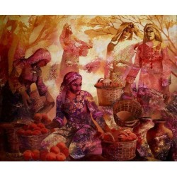 Fruit Harvest by Maher Naji, iRiwaq Virtual Art Gallery