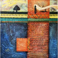 The land's language by Mohammed Alhaj, iRiwaq Virtual Art Gallery