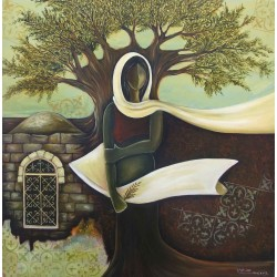 Olive Tree by Mohammed Alhaj, iRiwaq Virtual Art Gallery
