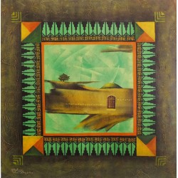 Decorative rhythm inspired by heritage by Mohammed Alhaj, iRiwaq Virtual Art Gallery