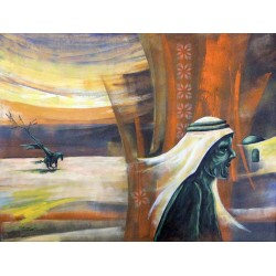 Challenge by the city by Mohammed Alhaj, iRiwaq Virtual Art Gallery