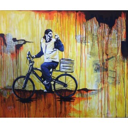 Bike by Mohammed Alhaj, iRiwaq Virtual Art Gallery