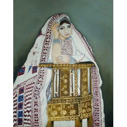 Palestinian folklore I by Nisreen Abu Gazaleh, iRiwaq Virtual Art Gallery