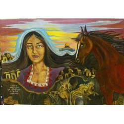 People Revolt by Reham Amawi, iRiwaq Virtual Art Gallery