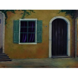 Closed Doors by Fawaz Saleh, iRiwaq Virtual Art Gallery