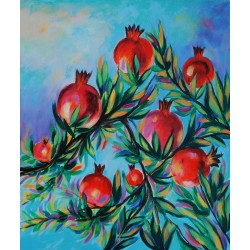 Pomegranate by Taleb Dweik, iRiwaq Virtual Art Gallery