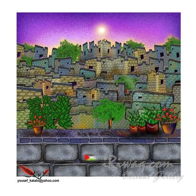 Good morning Jaffa - 10 by Yousef Katalo, iRiwaq Virtual Art Gallery