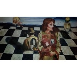 Women and the game of life by Shaimaa Haddad, iRiwaq Virtual Art Gallery