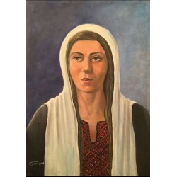 Palestinian by Suzan Jomaa, iRiwaq Virtual Art Gallery