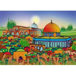 Jerusalem I by Yousef Katalo, iRiwaq Virtual Art Gallery