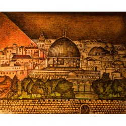 Jerusalem is a Palestinian Arab by Mohammed Elsharief, iRiwaq Virtual Art Gallery