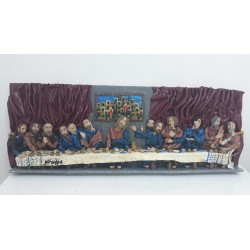 Last Supper by Nrmine Shaban, iRiwaq Virtual Art Gallery