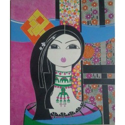 Beauty by Aza Shaikh Ahmad, iRiwaq Virtual Art Gallery
