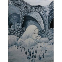 Diaspora by Ghadeer Hamoodah, iRiwaq Virtual Art Gallery