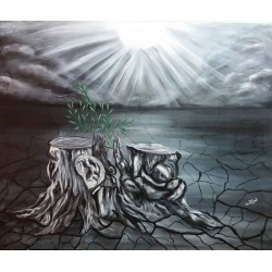Glimmer of hope by Ghadeer Hamoodah, iRiwaq Virtual Art Gallery