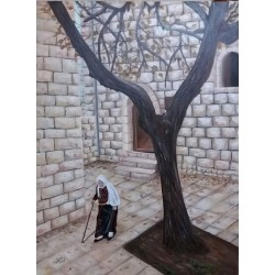 Hosh Grandma by Ghadeer Hamoodah, iRiwaq Virtual Art Gallery