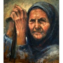 Grandma by Ibrahim Al Awadi, iRiwaq Virtual Art Gallery