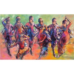Dabkeh by Sameer Elhallaq, iRiwaq Virtual Art Gallery